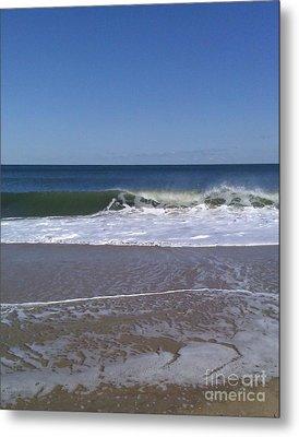 The Wave Metal Print by Arlene Carmel