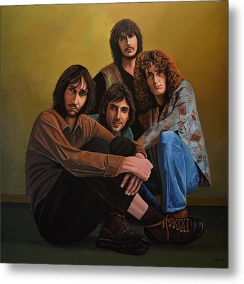 The Who Metal Print by Paul Meijering