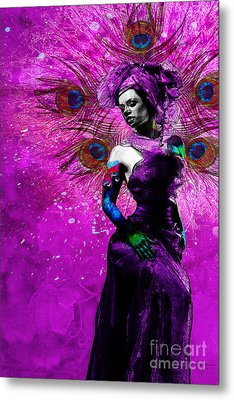 The Wife Manifestation Oshun Metal Print by Cody Norris