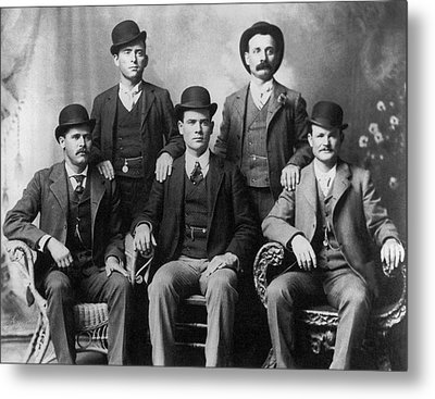 The Wild Bunch Gang Metal Print by Underwood Archives