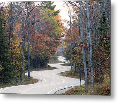 The Winding Road Metal Print by Jim Baker