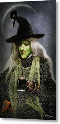 The Witch Of Endor As A Cavalier Metal Print by RC deWinter