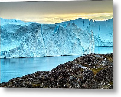 The Wonder Of Greenland Metal Print by Robert Lacy