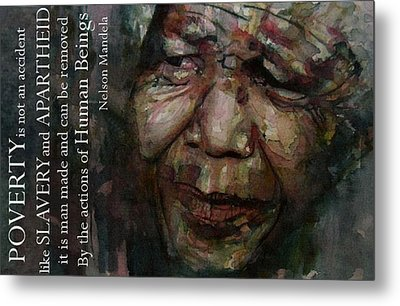 The World Holds It's Breathe Metal Print by Paul Lovering