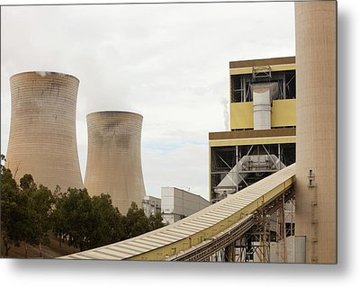 The Yan Lang Coal Fired Power Station Metal Print by Ashley Cooper
