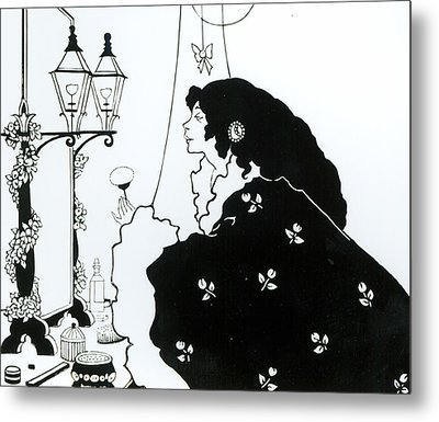 The Yellow Book  Metal Print by Aubrey Beardsley
