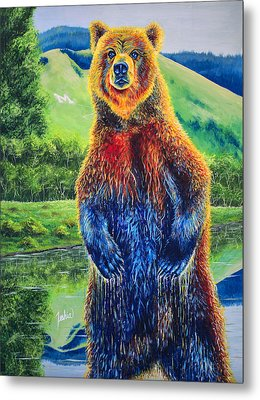 The Zookeeper - Special Missoula Montana Edition Metal Print by Teshia Art