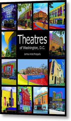 Theatres Of Washington Dc Metal Print by Jost Houk
