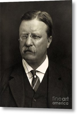 Theodore Roosevelt Metal Print by Unknown
