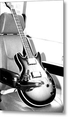 Therapeutic Guitar 3 Metal Print by Sandra Pena de Ortiz