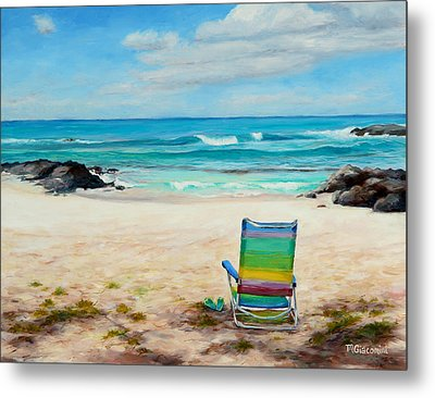 Therapy Metal Print by Mary Giacomini