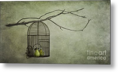 There Is A World Outside Metal Print by Priska Wettstein