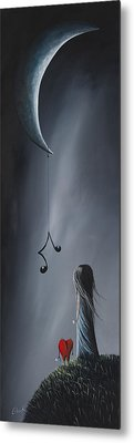 They Feel Your Love Song - Surreal Art By Shawna Erback Metal Print by Shawna Erback