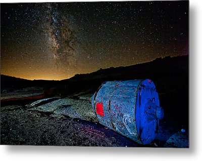 They've Landed Metal Print by Peter Tellone