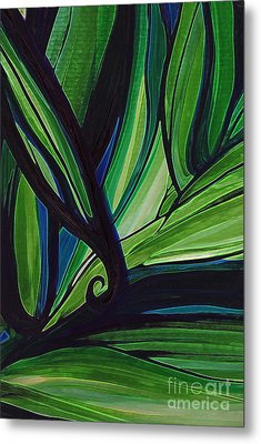 Thicket Metal Print by First Star Art