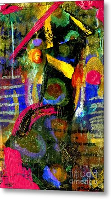 Things To Come Metal Print by Angela L Walker