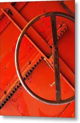 Third Wheel Metal Print by Tom Druin