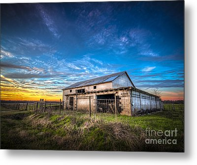 This Old Barn Metal Print by Marvin Spates