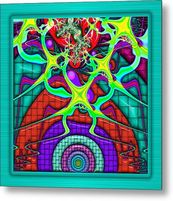 This Rough Magic 1 Metal Print by Wendy J St Christopher