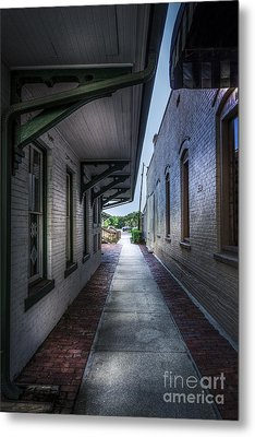 This Way To The Trains Metal Print by Marvin Spates