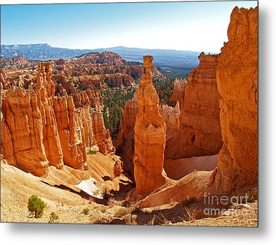 Thor's Hammer At Bryce Canyon Metal Print by Alex Cassels