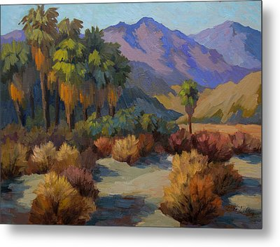 Thousand Palms Metal Print by Diane McClary