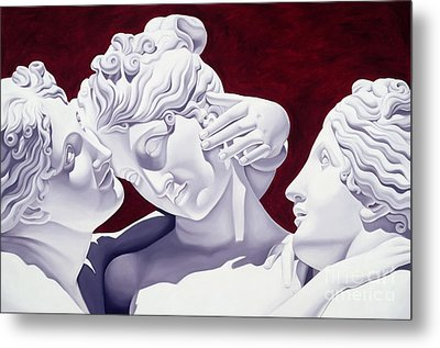 Three Graces Metal Print by Catherine Abel