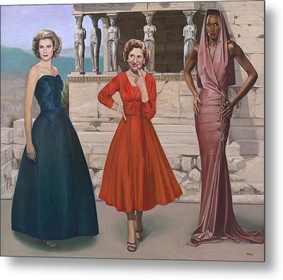Three Graces Metal Print by Terry Guyer