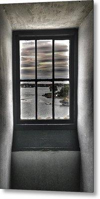 Through A Glass Metal Print by John Adams