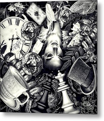 Through The Looking-glass Metal Print by Mo T
