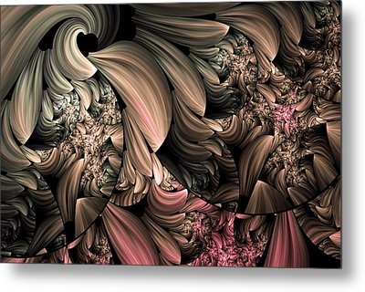 Through The Photographers Lens Abstract Metal Print by Georgiana Romanovna