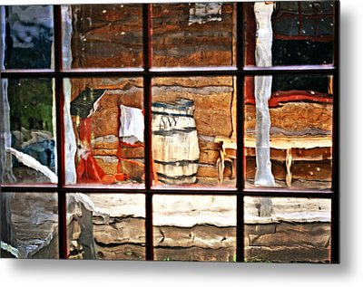 Through The Window Metal Print by Marty Koch