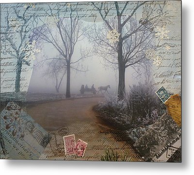 Through The Woods Metal Print by Tamyra Crossley