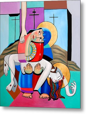 Thy Will Be Done  Metal Print by Anthony Falbo