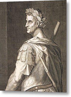 Tiberius Caesar Metal Print by Titian