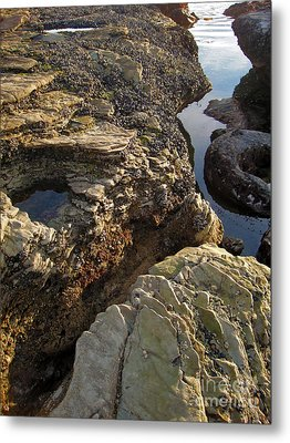 Tide Pools - 02 Metal Print by Gregory Dyer