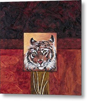 Tiger 2 Metal Print by Darice Machel McGuire