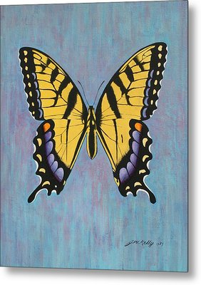 Tiger Swallowtail Metal Print by J W Kelly