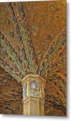Tile Work Metal Print by Susan Candelario