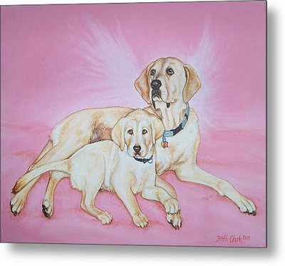 Tilly And Forrest Metal Print by Beth Clark-McDonal