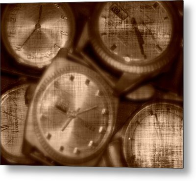 Time After Time Metal Print by Barbara S Nickerson
