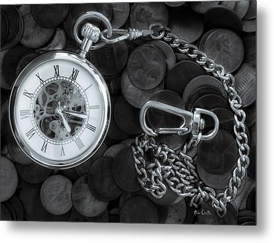 Time And Money Metal Print by Bob Orsillo