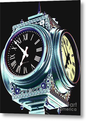 Time Metal Print by Colleen Kammerer