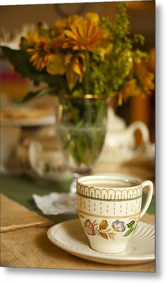 Time For Tea Metal Print by Andrew Soundarajan