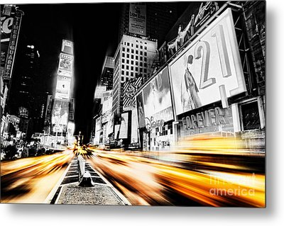 Time Lapse Square Metal Print by Andrew Paranavitana