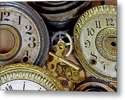 Time Long Gone Metal Print by Tom Gari Gallery-Three-Photography