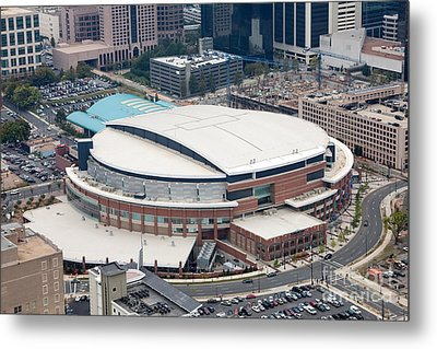 Time Warner Cable Arena Metal Print by Bill Cobb