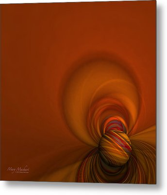 Time Warp Metal Print by Mary Machare