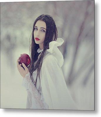 timeless story of Snow white 1 Metal Print by Anka Zhuravleva