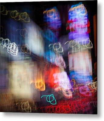 Times Square Metal Print by Dave Bowman